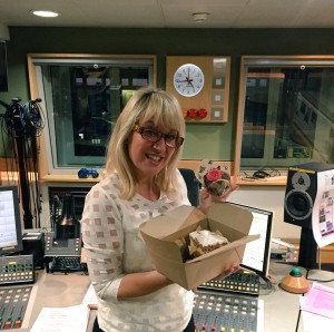 Early Breakfast made up of cakes at BBCR2