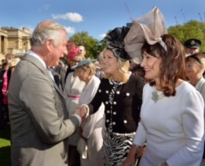 Meeting HRH The Prince of Wales.